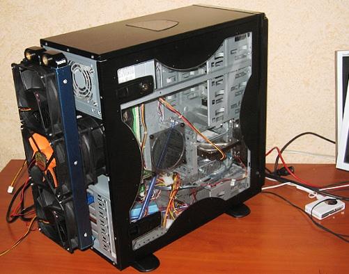 Делаем моддинг компьютера своими руками