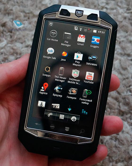 Tag Heuer от Racer –люксовый смартфон